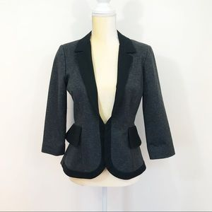 Cartonnier Anthropologie • Two Tone Fitted Blazer